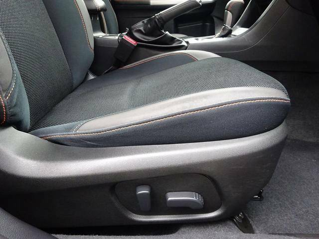 ◆サポート性の高い電動フロントシート◆人間工学を考慮し、ロングドライブでも疲れを感じさせない優れたシートです◆