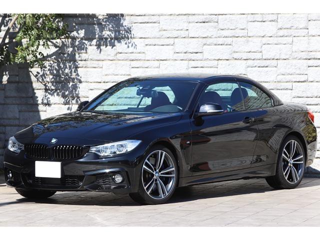 BMW 4シリーズ 440i カブリオレ Mスポーツ ファストトラックPKG レッドレザー 純正19インチAW エアカラー LEDヘッドライト ACC 左ハンドル