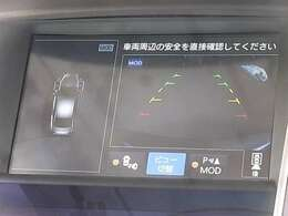 アラウンドビューモニター[移動物検知&駐車ガイド機能内蔵]装備♪その他、自動防眩式ルームミラーやスカイラインホログラフィックサウンドシステム、インテリジェントキーなど充実の装備内容となっております!!