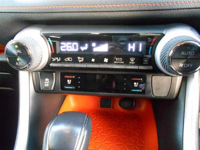 芯から体を温めてくれるシートヒーター。冷え性の方には大変うれしい装備です。