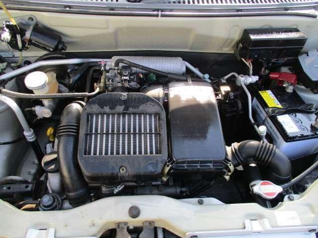 ☆水冷直列3気筒DOHC12バルブICターボ K6Aエンジン 60PS(カタログ値)☆