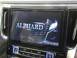 【社外SDナビ】アルパイン製10型BIGXナビが搭載されています。走行中の操作が出来、大変便利です。