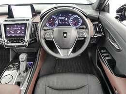 視界良好運転し易いです一度座って体感してみてください。