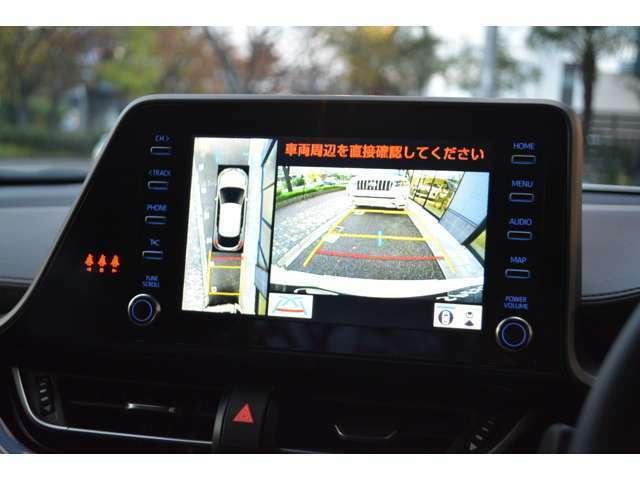 ■パノラミックビューモニターも付いていますので、安全性も高いお車になっております!■