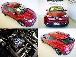 本当に良く売れる トヨタの優等生 コンパクトSUV もちろんハイブリッド カタログ値 燃費30.2K 当店売れ筋カラー センシュアルレッドマイカが素敵ですよ もちろん 禁煙 ワンオーナーです