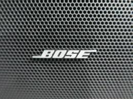 人気装備のBOSEサウンドシステムが装備されております!