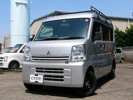 三菱 ミニキャブバン 660 M ハイルーフ 4WD ルーフキャリア付き