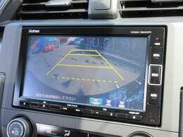 純正ギャザーズメモリーナビ付♪ ガイド線付きバックカメラで駐車も安心ですね♪広角のカメラを使用しております♪