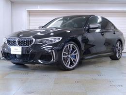 BMW 3シリーズ M340i xドライブ 4WD 黒革 パーキングアシストプラス 19AW