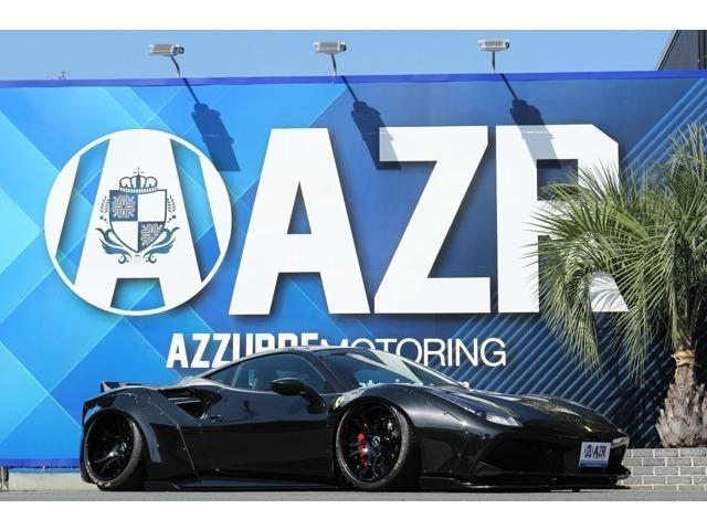 2016y フェラーリ488 LBワークスフルエアロ FIエキゾースト可変マフラー SKYFORGED20インチ鍛造ホイール エアフォースエアサス車両入庫!!