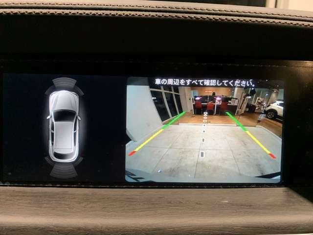 バックカメラ(ガイドライン機能付き)は標準仕様