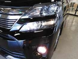 ディスチャージヘッドライト装備で夜道もスッキリ視界で安心にドライブできます☆