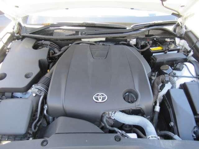 V型6気筒DOHC 総排気量:2499cc