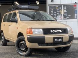 トヨタ プロボックスバン 1.3 DXコンフォートパッケージ リフトアップ 新品シートカバー MTタイヤ