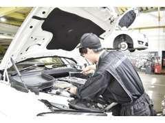 あなたの愛車を鍛え抜かれた技術スタッフが対応いたします。