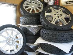 タイヤ・アルミのことも気軽に相談して下さい。