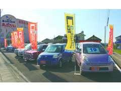 リーズナブルな車がいつも展示されているので、要チェック!!