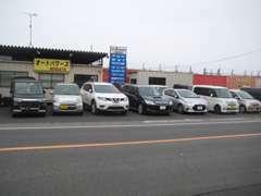 自動車~セダン・ミニバン・商用車まで格安な中古車を展示中です★ぜひお気軽にご来店下さい☆
