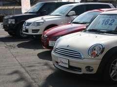 ドイツ車イギリス車イタリア車など欧州車をメインに元気に営業中!