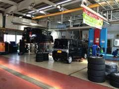 エコクリーン整備を標準化し環境に優しい車検整備を実施中!電気自動車の開発や福祉車両にも力を入れており、特殊装置修理もOK!