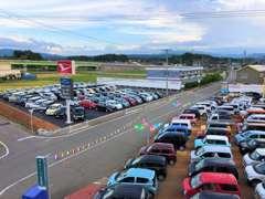届出済未使用車を中心に、総在庫約100台を常時展示!! もちろん、在庫に無いお車もお探しいたします☆