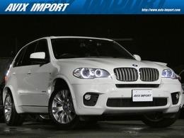 BMW X5 xドライブ 35i Mスポーツパッケージ 4WD 後期型 7人乗り パノラマSR 黒革 純正ナビ