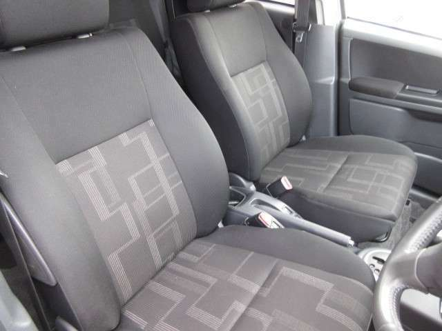 フロントシートの画像です