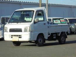 スバル サンバートラック 660 TC 三方開 4WD パワステ エアコン