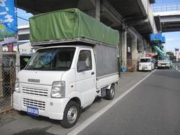 スズキ キャリイ 660 KC 3方開 宅配仕様オープントップパワステエアコン