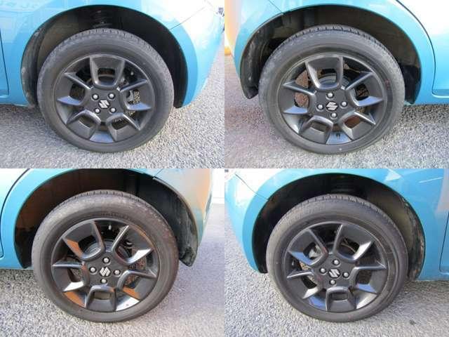 各種アルミ・タイヤを取り扱っております。新品だけでなく格安の中古タイヤ・ホイールセットも取り扱い中。冬に備えて中古のスタットレス(AW付)タイヤを同時にご購入いただくお客様もいらっしゃいます。