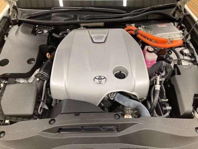☆ 3,500ccガソリンエンジンです。