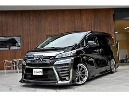 トヨタ ヴェルファイア 2.5 Z Gエディション エアロ 車高調 20インチAW 純正ナビ