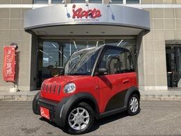 輸入車その他 超小型電気自動車 e-Apple 鉛バッテリー 鉛バッテリー EV 100V家庭用コンセント充電