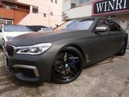 BMW 7シリーズ M760Li xドライブ 4WD マッドブラックラッピング