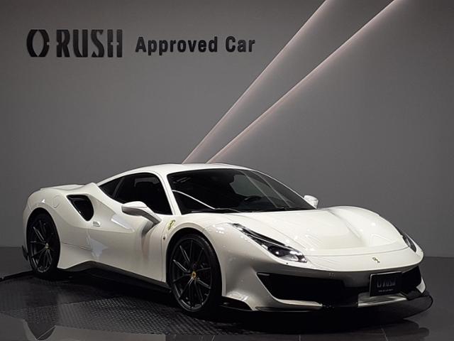 ●フェラーリ史上最もパワフルなV(エンジンを搭載し、サーキットで培った技術を惜しみなく注ぎ込んだスペシャルシリーズ・スポーツカーの最新バージョンです●