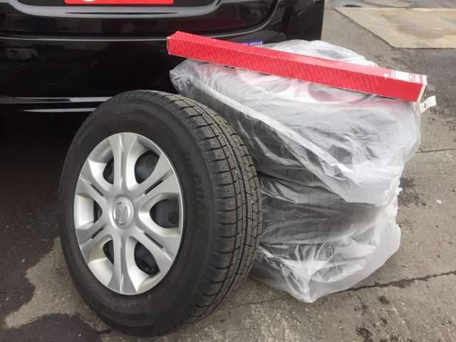 冬タイヤも装備しております