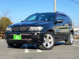 BMW X5 3.0i 4WD ブラックレザーシート・ナビ・地デジ