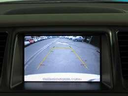 バックカメラで駐車も安心です♪