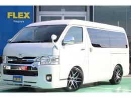 トヨタ ハイエース 2.7 GL ロング ミドルルーフ FLEXオリジナル内装架装Ver.2カスタム済
