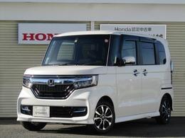 ホンダ N-BOX カスタム 660 G L ホンダセンシング 8インチナビ・禁煙車・タイヤ新品