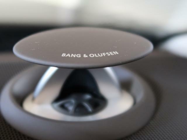 ●Bang&Olufsenサラウンドシステム『デンマークが世界に誇る高品質サラウンドシステム。クリアでダイナミック。そして臨場感溢れる上質なサラウンドサウンドをドライブ中にご体感いただけます。』