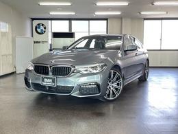 BMW 5シリーズ 540i Mスポーツ ワンオーナー禁煙車 黒革 イノベーション