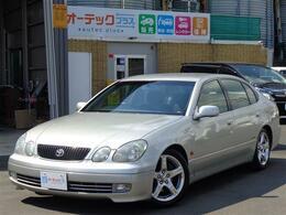 トヨタ アリスト 3.0 S300ベルテックスエディション ローダウン タイベル交換 純正メッキアルミ