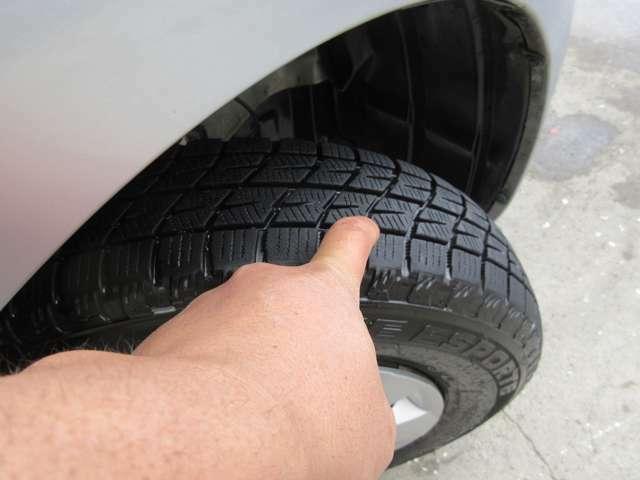 ☆タイヤは4本共に安心の国産高級タイヤを装着!☆タイヤ溝もご覧の通り長く安心してご使用してして頂けます。