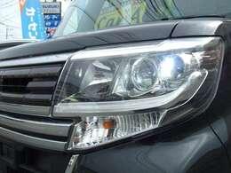 LEDヘッドライトが標準装備♪♪