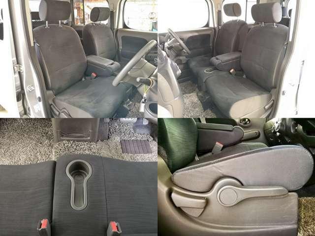 ソファーのようなゆったりしたシート 肌触りも良く いつまでも座っていたくなる空間 毎日乗る車だからこそ大事なパーツですよね・・・