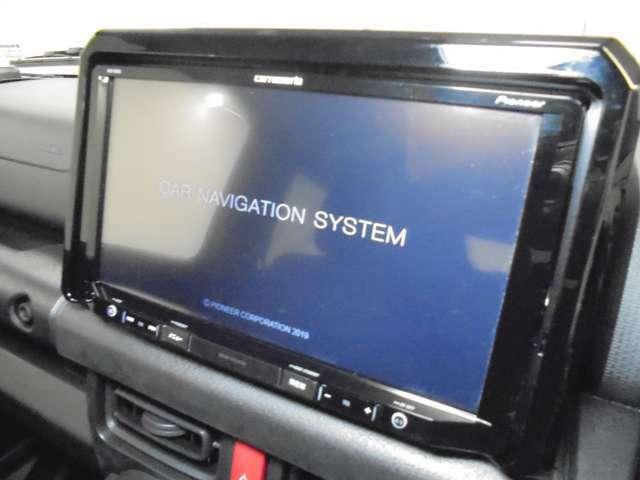 社外9型メモリーナビ【carrozzeria:AVIC-RQ903】装着!!☆フルセグTV視聴可能☆Bluetooth接続☆SDオーディオ☆DVD・CD再生☆AM・FMなどの機能が内蔵されております♪