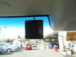 もしもの時に安心のドライブレコーダーが付いてます!
