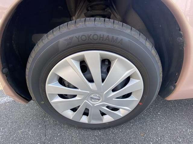 タイヤ溝たっぷり。すぐ乗れます。