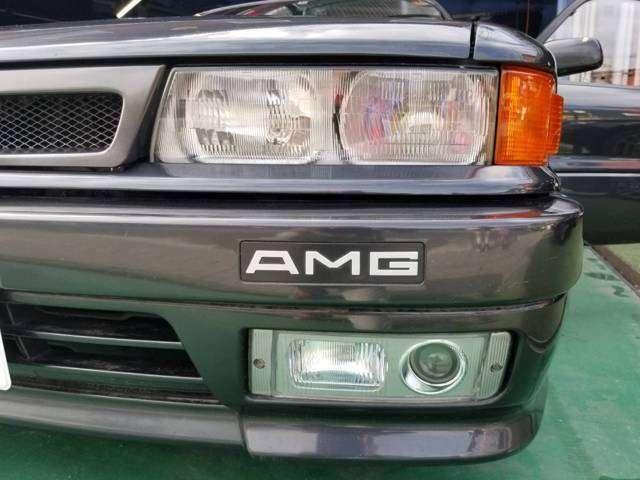 AMG専用フロントバンパー